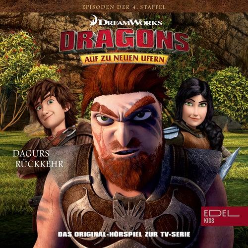 Folge 41: Rotzbakke, der Anführer / Dagurs Rückkehr (Das Original-Hörspiel zur TV-Serie) von Dragons - Auf zu neuen Ufern