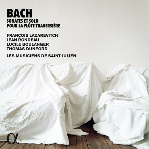Bach: Sonates & solo pour la flûte traversière (Alpha Collection) by François Lazarevitch