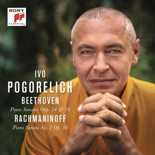 Beethoven: Piano Sonatas Opp. 54 & 78 - Rachmaninoff: Piano Sonata No. 2 Op. 36 by Ivo Pogorelich