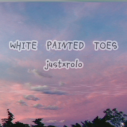 White Painted Toes by Justxrolo