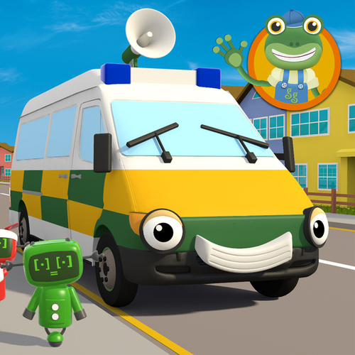 Amber the Ambulance by Toddler Fun Learning