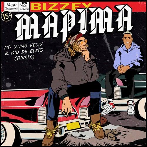 Mapima (Remix) van Bizzey