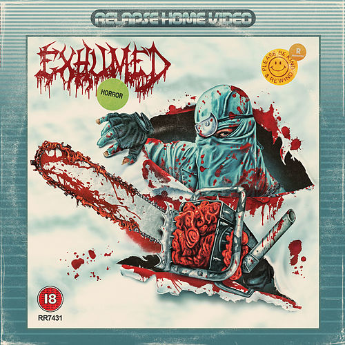 Naked, Screaming, and Covered in Blood by Exhumed
