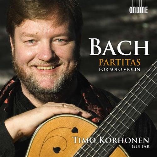 Bach: Partitas for Solo Violin by Timo Korhonen