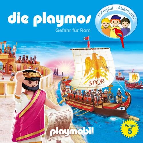 Folge 5: Gefahr für Rom (Das Original Playmobil Hörspiel) von Die Playmos