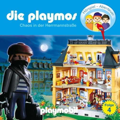 Folge 4: Chaos in der Herrmannstrasse (Das Original Playmobil Hörspiel) von Die Playmos