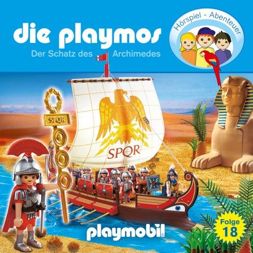 Folge 18: Der Schatz des Archimedes (Das Original Playmobil Hörspiel) von Die Playmos