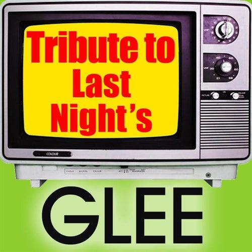 Tribute to Last Night's Glee von Various Artists