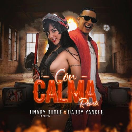 Con Calma (Remix) de Jinary Duque