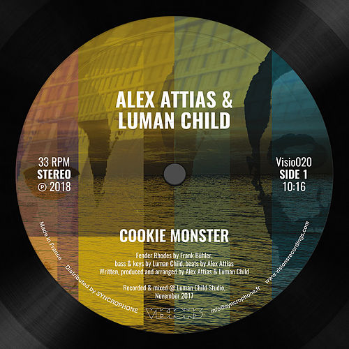Cookie Monster - Single by Alex Attias (1)