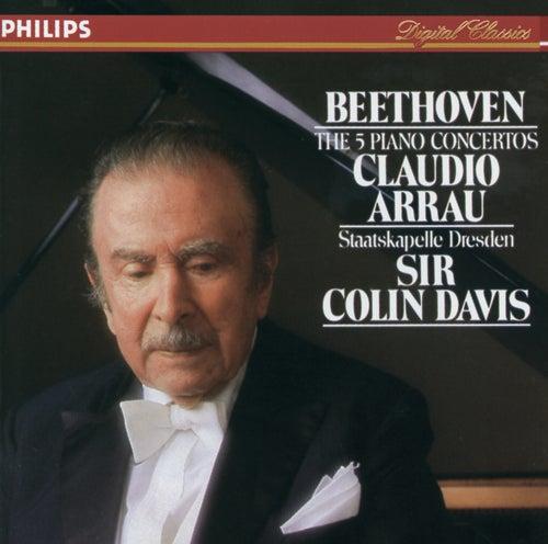 Beethoven: The Piano Concertos by Claudio Arrau