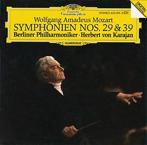 Mozart, W.A.: Symphonies Nos. 29 & 39 von Berliner Philharmoniker