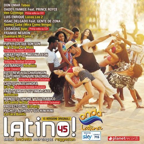 Latino 45 - Salsa Bachata Merengue Reggaeton (Latin Hits) de Various Artists