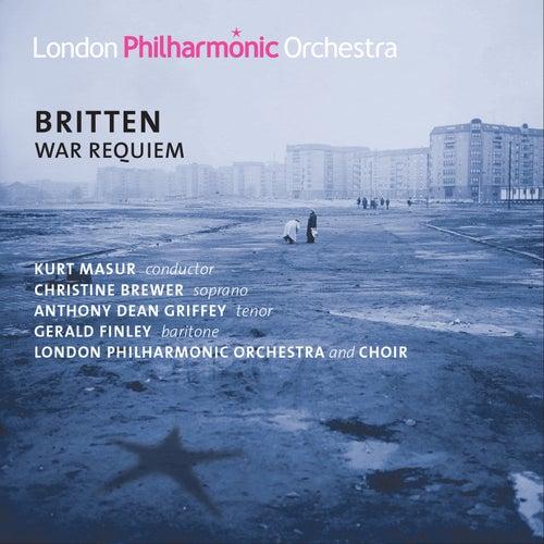 Britten: War Requiem de Kurt Masur