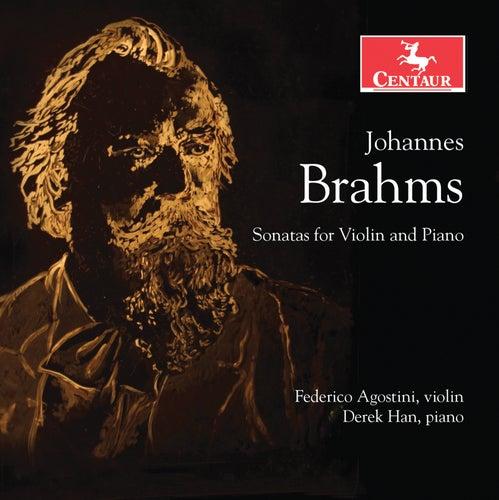 Brahms: Sonatas for Violin & Piano by Federico Agostini