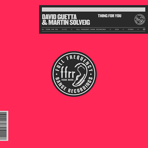 Thing For You (With Martin Solveig) de David Guetta