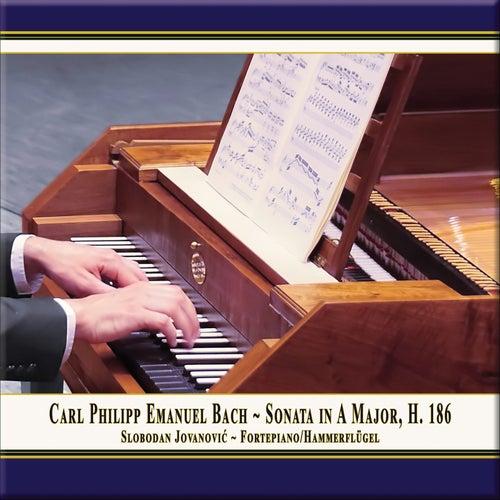 C.P.E. Bach: Keyboard Sonata in A Major, Wq. 55 No. 4, H. 186 by Slobodan Jovanović