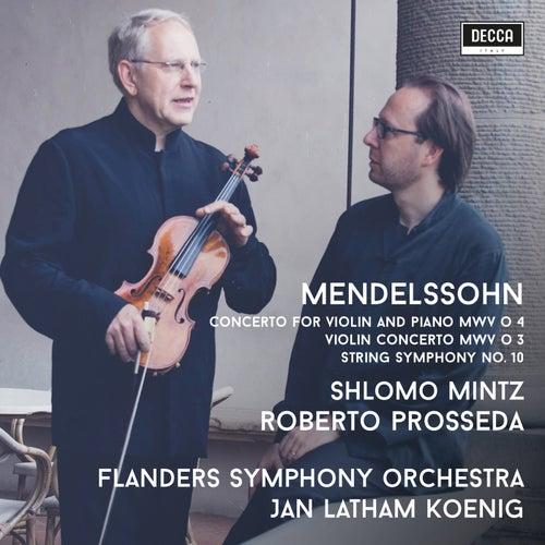 Mendelssohn: Violin Concertos de Shlomo Mintz