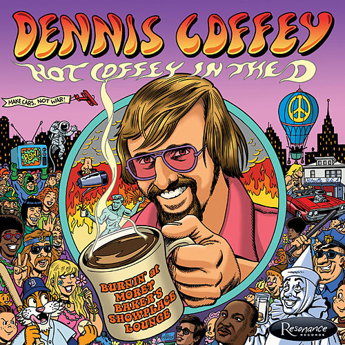Hot Coffey in the D: Burnin' at Morey Baker's Showplace Lounge di Dennis Coffey