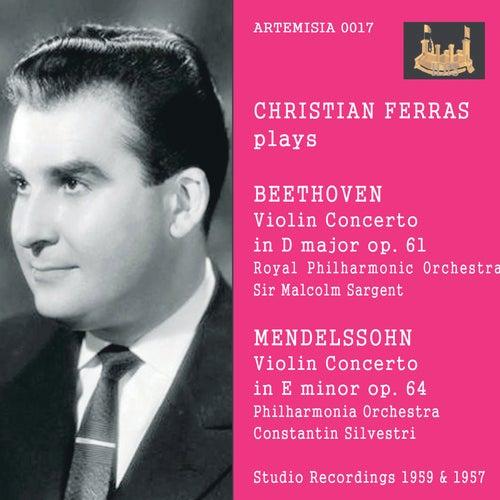 Beethoven & Mendelssohn: Violin Concertos von Christian Ferras