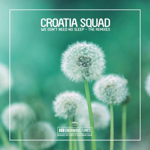 We Don't Need No Sleep (The Remixes) von Croatia Squad