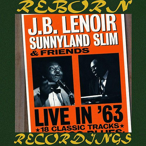 Live in '63 (HD Remastered) de J.B. Lenoir