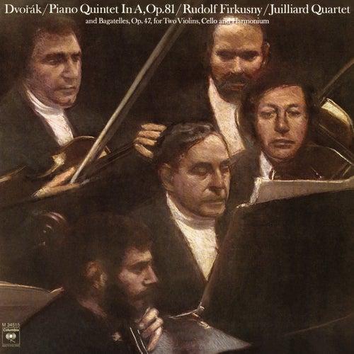 Dvorak: Piano Quintet No. 2 in A Major, Op. 81 & Bagatelles, Op. 47 by Rudolf Firkusny