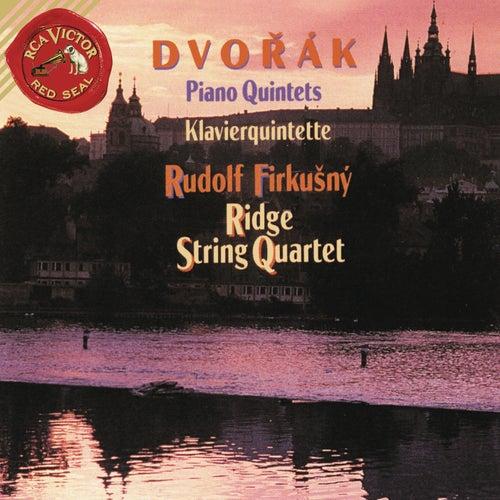 Dvorak: Piano Quintet No. 2 in A Major, Op. 81 & Piano Quintet No. 1 in A Major, Op. 5 de Rudolf Firkusny