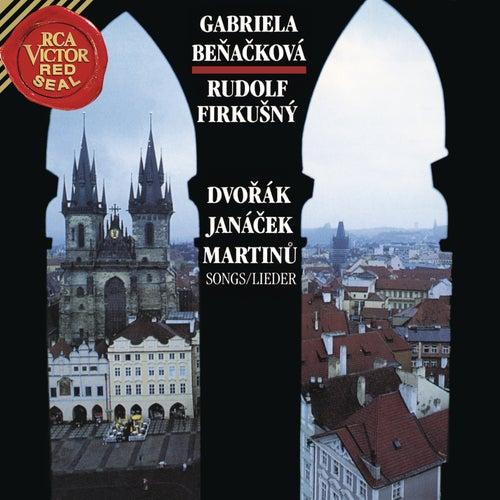 Dvorak, Janacek & Martinu: Songs by Rudolf Firkusny