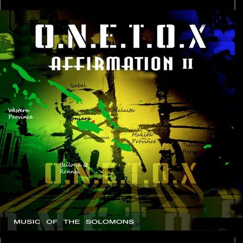 Affirmation II by Onetox