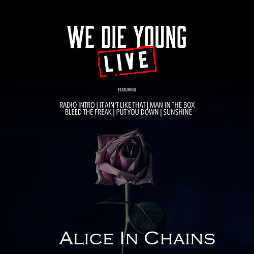 We Die Young (Live) de Alice in Chains