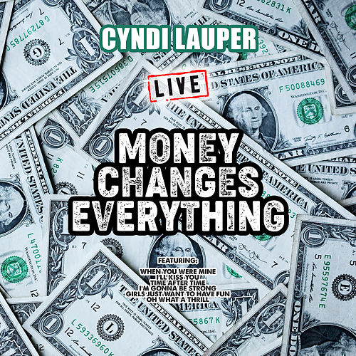 Money Changes Everything (Live) de Cyndi Lauper