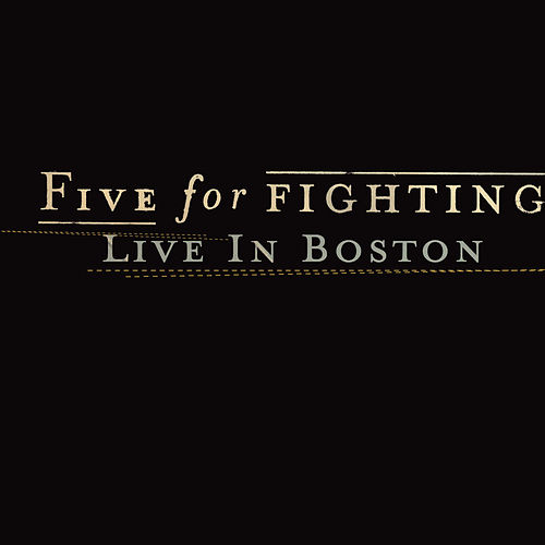 Five For Fighting Live in Boston (Live Nation Studios) by Five for Fighting
