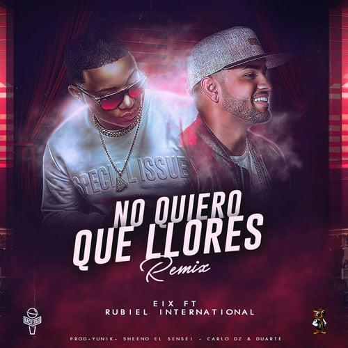 No Quiero Que Llores (Remix) by Eix