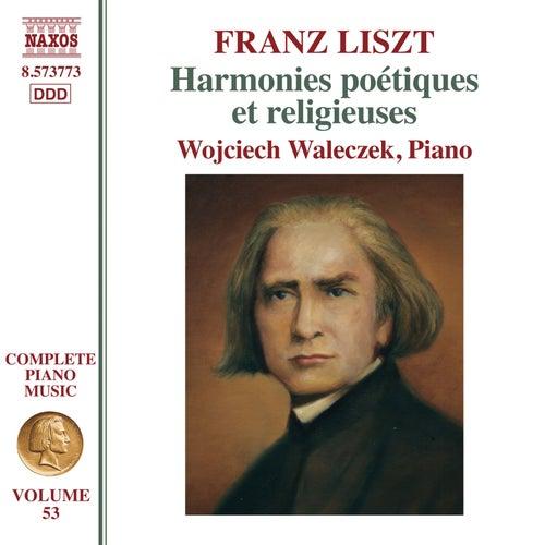Complete Piano Music, Vol. 53: Liszt - Harmonies poétiques et religieuses II, S. 172a by Wojciech Waleczek