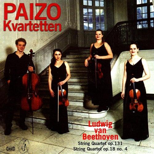 Beethoven: String Quartets Nos  4 & 14 by Paizo Quartet