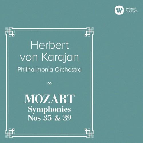 Mozart: Symphonies Nos 35 & 39 von Herbert Von Karajan
