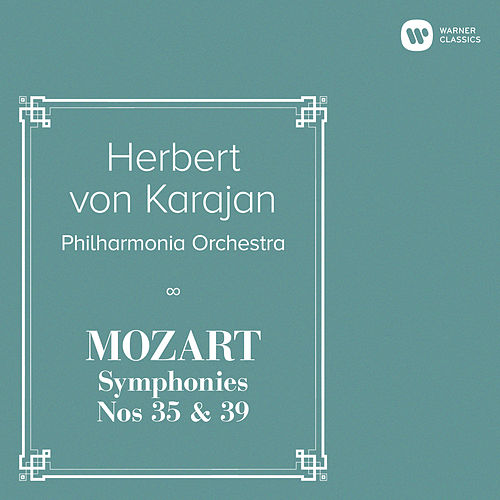 Mozart: Symphonies Nos 35 & 39 by Herbert Von Karajan