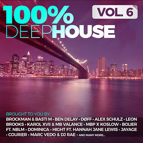 100% Deep House, Vol. 6 de Various Artists