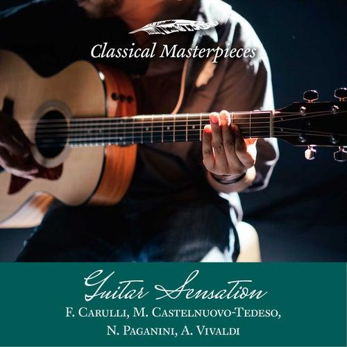 Guitar Sensation: A. Vivaldi,F.Carulli,M.Castelnuovo-Tedeso, N. Paganini (Classical Masterpieces) by Friedemann Wuttke