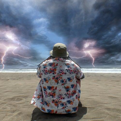 Grey Clouds & Raindrops von Rexx Life Raj