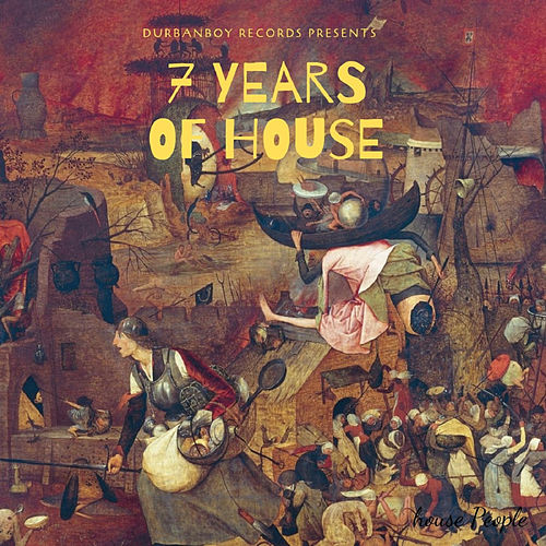 7 years of House - EP de Various Artists