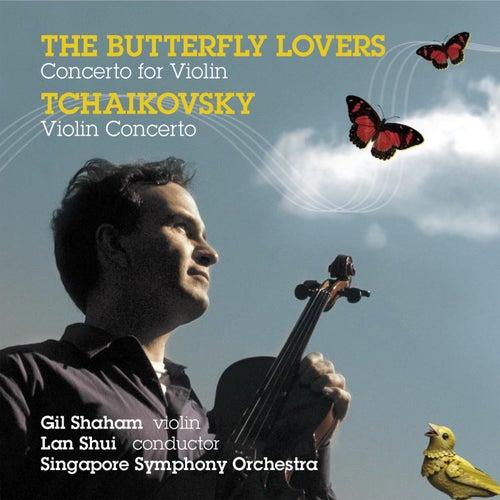 Tchaikovsky: Violin Concerto, Op.35 - Chen, He: Butterfly Lovers, Violin Concerto von Gil Shaham