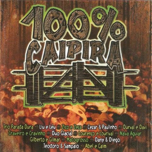 100% Caipira (Ao Vivo) de Various Artists