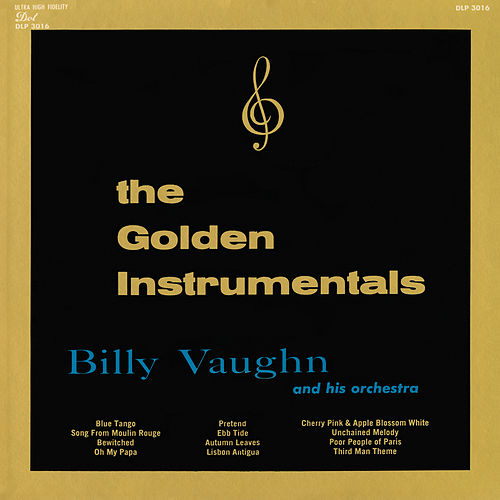 The Golden Instrumentals von Billy Vaughn
