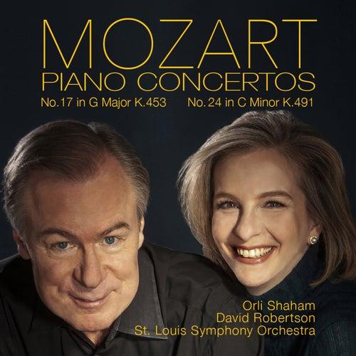 Mozart: Piano Concertos No. 17, K. 453 & No. 24, K. 491 by Orli Shaham