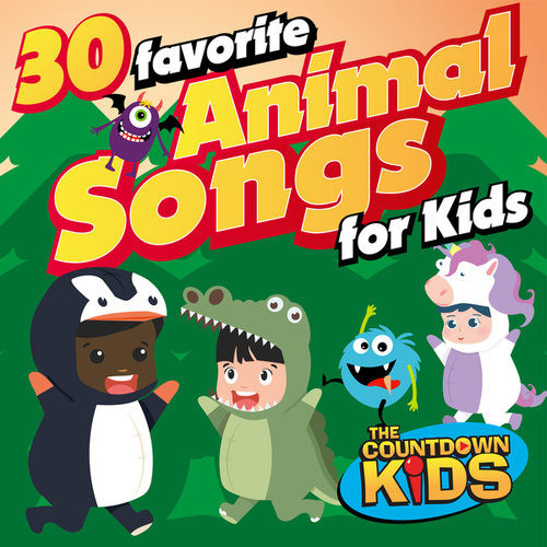 30 Favorite Animal Songs for Kids de The Countdown Kids