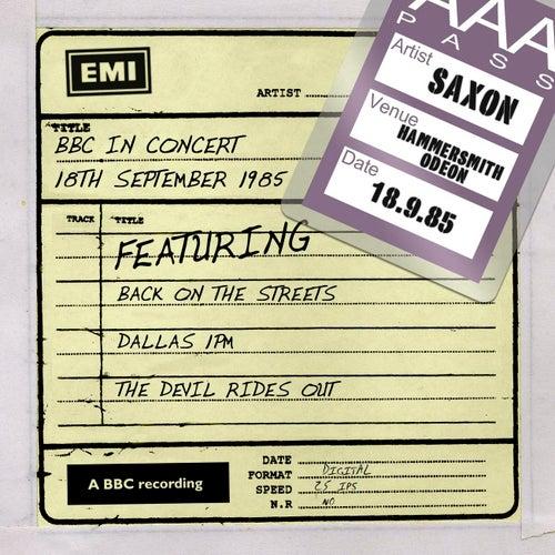 BBC In Concert (18th September 1985) von Saxon