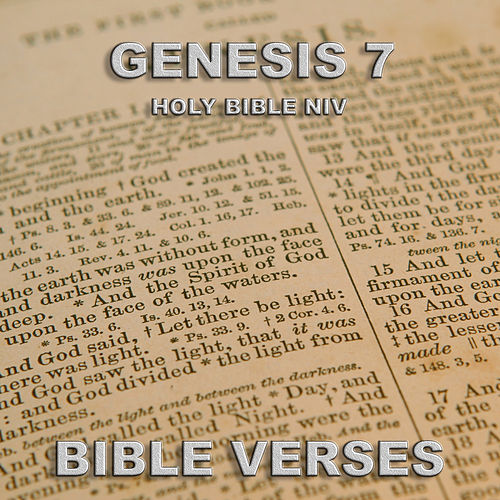 Holy Bible Niv Genesis 7 de Bible Verses