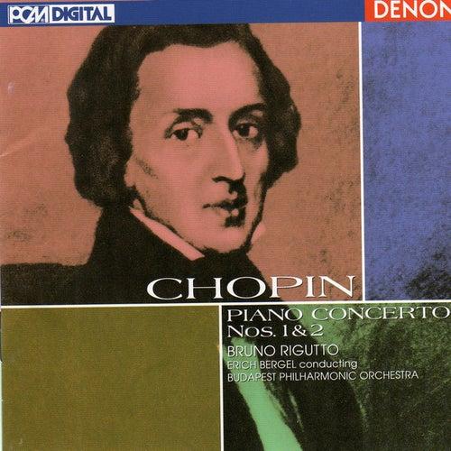 Chopin: Piano Concertos Nos. 1 & 2 von Bruno Rigutto